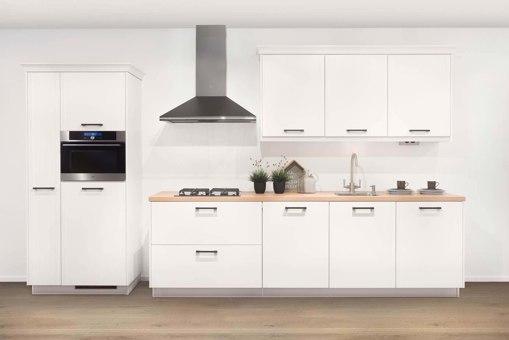 Witte keukens meer informatie voorbeelden keur - Witte keuken met zwart werkblad ...
