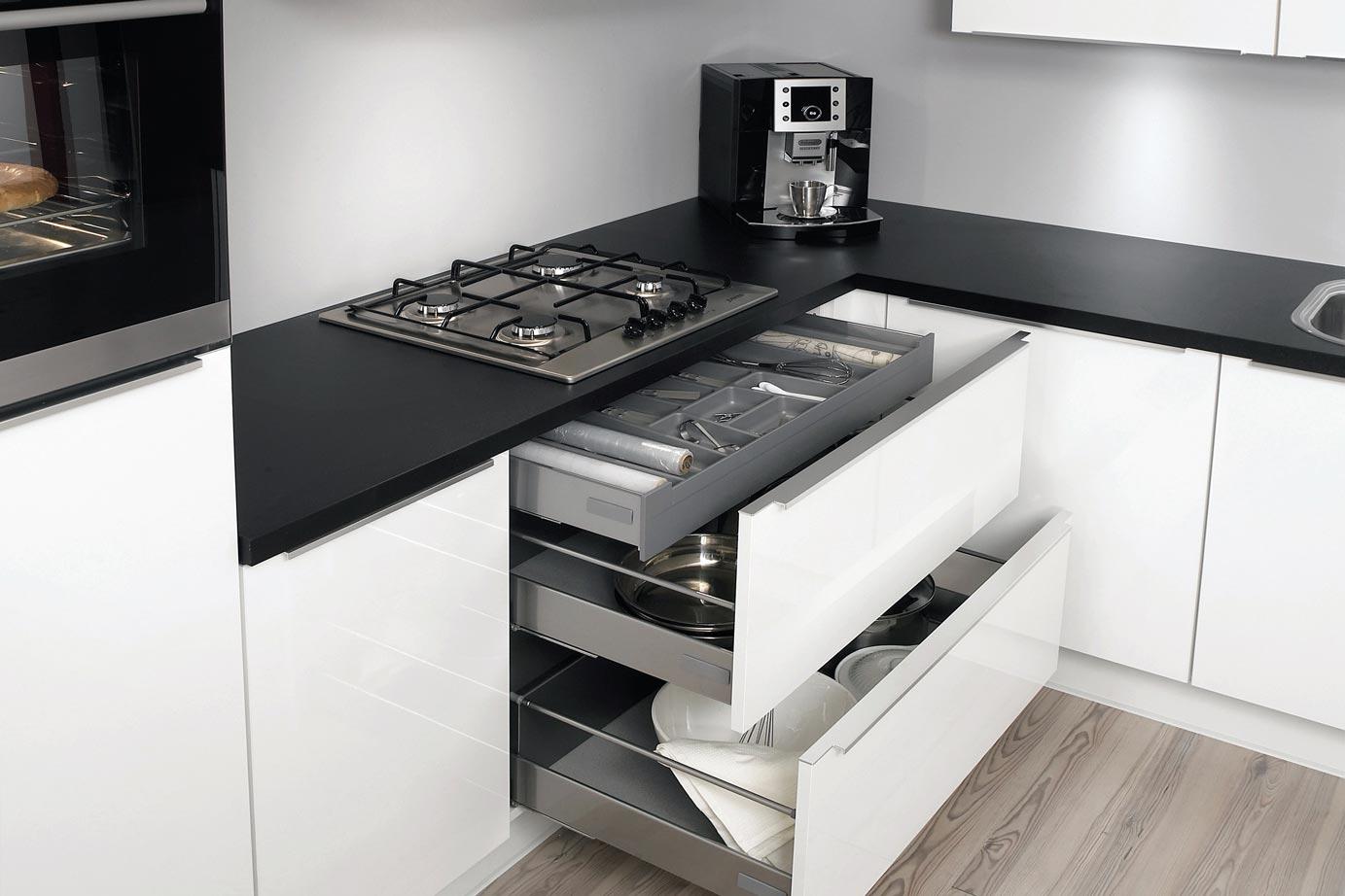 Witte Hoogglans Keuken Met Wit Blad : Keukenstijlen. keukens passend bij elke woningstijl. keur
