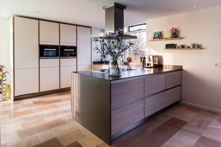 Welke kleur wordt uw keuken elke ral en sikkens kleur is mogelijk keur - Kleur witte keuken ...