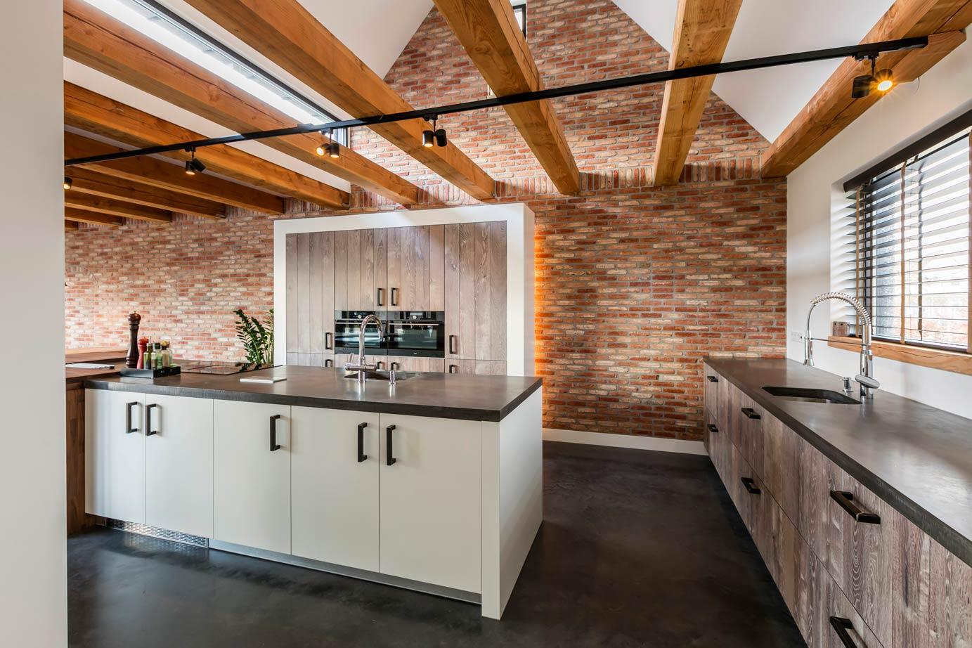Stoere Landelijk Keuken : Landelijke keuken hout in nieuw afbeeldingen van landelijke keuken