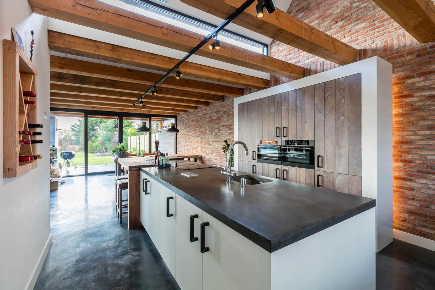 Een landelijk moderne keuken kopen in limmen lees klantervaring