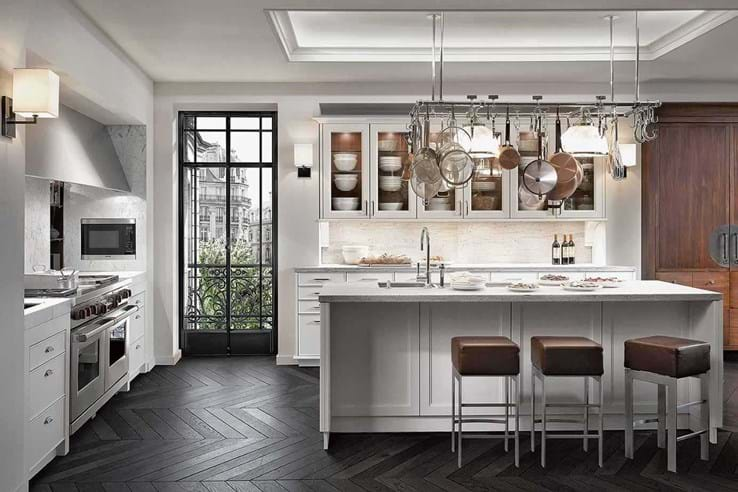 SieMatic Classic Collection is gebaseerd op de Beaux Arts principes